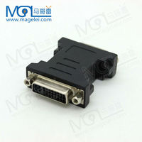 DVI 24+5 Gold Plated Female to Female F/F Adapter Converter