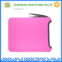 Low price pink neoprene laptop sleeve wholesale