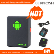 2014 Super Mini GPS Tracker Global Real time GPS Tracking System MINI_A8 tracker