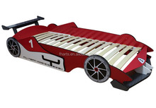 Hot sale Kids Bedroom F1 Style Furniture Racing Car Bed