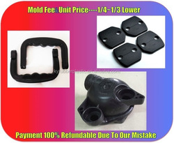 Custom Plastic Kitchen Accessories / Handle Plastic Accessory / ABS Plastic ABS Car Accessories