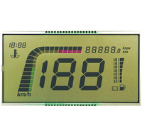 Digit HTN Positive LCD for motorbike