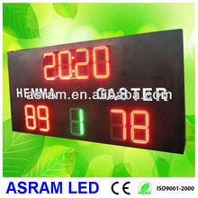 Electronic LED Basketball/Football Display Score Board,led football scoreboard with LED team name