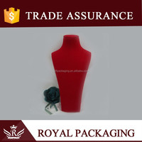 Hot Sale Fashionable Red Jewelry Bust
