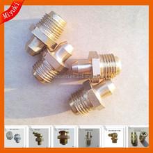 zhuji copper M8x1 oil nipple car care fittings