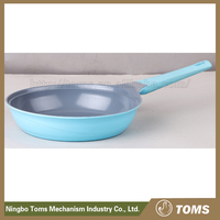 Induction bottom Die-casting non-stick kitchenware electric deep frying pan and skillet sets
