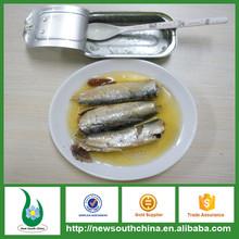 125 grama canned sardinha em óleo vegetal