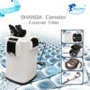 SHANDA aquarium External filter/canister SDE-1800UV 1800L/H UV Filter Bio Filter