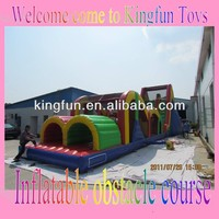 Playground inflatabe obstacle coursed for outdoor