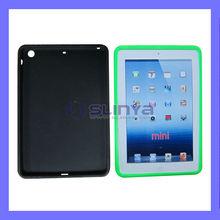 7 Inch Mini Size Flip Surface Color Soft Slim Rubber Cover for iPad Mini