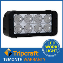 Super Brightness 10-30V 80W 6800LM LED Bar lightings for 4 X 4,ATV, SUV, UTV, truck,Fork lift,train,boat, bus, and tanks