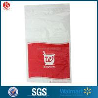 Walgreens FDA test LDPE medicine zip lock bag /zipper bag for hospital