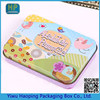 Pretty Biscuit packaging tin box,cute pencil case for girl