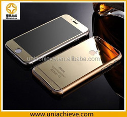Glass waterproof case for iphone 6/iPhone 6 plus Protective Cover, for iphone 6/iPhone 6 plus Love Mei Aluminum Cover