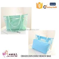 New design and hot selling beach bag wholesale, beach tote bag, pvc beach bag