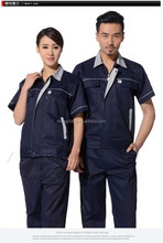 Mens 100% cotton engineering mechanic and car repairing one piece reflective working coveralls clothes uniform