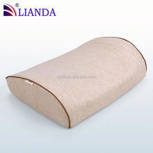 Therapy Lumbar Cushion Support Pillow with Velour Cover lumbar back support cushion