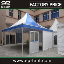 luxury pergola 4mx4m with transparent PVC window for outdoor events