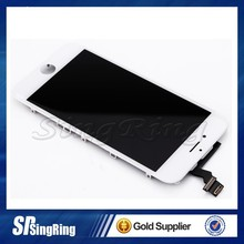 foxconn technology for iphone 6 complete front lcd screen assembly, low price for iphone 6 digitizer and lcd touch screen gold