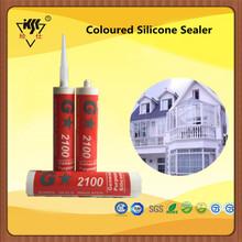 Weatherproof Coloured Silicone Sealer Masitc gum silicone sealant