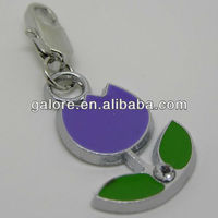 flower charm medical alert charms wholesale charms for bracelets