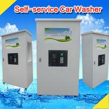 1.6KW 80 bar Coin/card operated car washing self service machine/self-service steam generator car wash