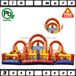 EN14960 super obstacle course, giant inflatable obstacle, obstacle course inflatable for sale