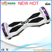 Look gorgeous two wheel electric balance shilly car / motorcycle