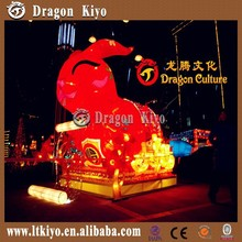 2015 The Most Beautiful Chinese Silk Lantern Arts For Little Animals