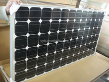 Cheaper 300W mono solar panel for solar street lighting and solar home system with TUV IEC CE RoHS certified