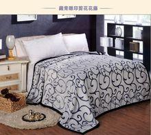 Wholesale fashion jade carving velvet fine blanket