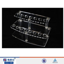 Deluxe 15 Pen Commercial Clear Acrylic Display,countertop pen display stand