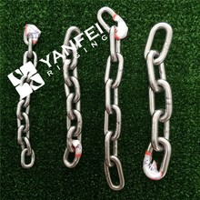 16mm Stainless Steel Long Link Chain/Short Link Chain