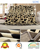 High quality fancy full world class 100% polyester soft flannel blanket in China