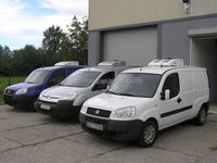 Roof top mounted van refrigerated units keep fronzen -20 degree