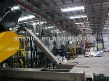 1500 kg/h máquina para reciclar plástico/ línea de lavado de botellas de PET
