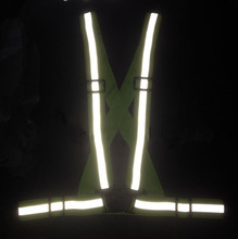 Reflective Vest provides High Visibility Day & Night