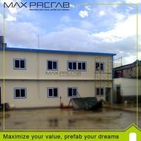 modular housing prefab modern steel house