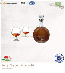 Beautiful appearance 500ml Brandy bottle wholesale