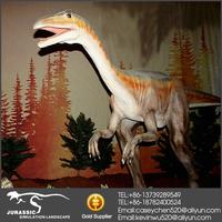 Indoor Amusement Silicon Rubber Dinosaur Playground Equipment