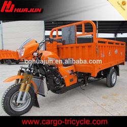 Cargo carrying use three wheel motor vehicle