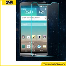 Removable screen protector accessories tempered glass screen protector 0.3mm anti shock for LG G3