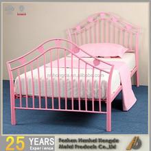 Hearts Kids Metal Bed Frame