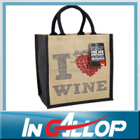 wholesale tote shopping gunny jute bag