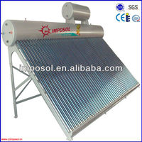 copper coil solar heater