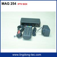 Receptor de satellite Mag 254 iptv box with Ultra HD1080P