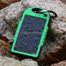 New Creative waterproof mobile phone Solar battery Charger for mobile phone
