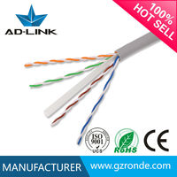Alibaba hot sale 4 pair 23awg cat6 utp cable cable providers