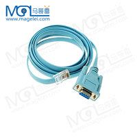 DB9 Port RS232 Serial Cable to RJ45 DB9 to RJ45 Cable