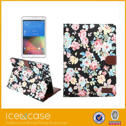 2015 New arrival folio stand leather case for lg g pad case cover for asus memo pad 8 me581 for ipad rock case
